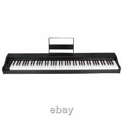 Musique Electronic Keyboard Electric Digital Piano Black With Speakers 88 Key