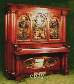 Nickelodeon Boîte À Musique Jukebox Joueur Piano