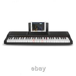 Noir 61 Clé Piano Électronique MIDI Numérique Instrument De Musique Organe Portable Nouveau