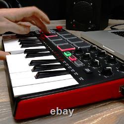 Nouveau Beat & Music Maker Dj Piano Usb MIDI Drum Pad & Keyboard Controller Joyst