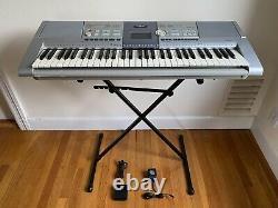 Piano Clavier Yamaha Psr-295 Avec Support & Support Musical & Pédale & Bloc Manuel