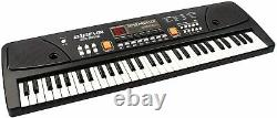 Piano Keyboard Digital Key Electric Stand Portable Weighted Music Instrument Jouet
