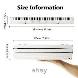 Piano Pliable Piano Numérique Portable Kit De Clavier Électronique Instrument De Musique