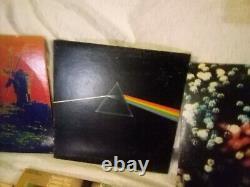 Pink Floyd Lp Lot Non Testé Côté Sombre De La Lune Ummagumma
