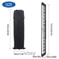 Pliage 88 Key Electronic Keyboard Musique Électrique Piano Numérique + Sustain Pedal
