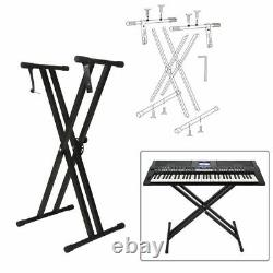 Porte-clavier Piano Universal Music Support Instrument Rack Accessoire Réglable