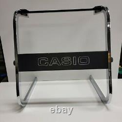 Super Rare Original Stand Vtg Casiotone 701 (ct-701) Clavier Pour Piano Électronique