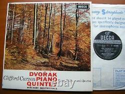 Sxl 6043 Dvorak Piano Quintette / Schubert Quartettsatz Curzon / Vpo Qrt Nm