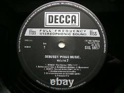 Sxl 6855 / 6928 / 6957 Debussy Musique Pour Piano Solo Pascal Roge 3lp Nm