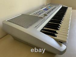 Synthétiseur De Clavier Yamaha Psr-290 Avec Support De Musique & Pédale & Manuel