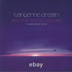 Tangerine Dream Pilotes Du Crépuscule Violet Les Enregistrements Vierges 1980-1983