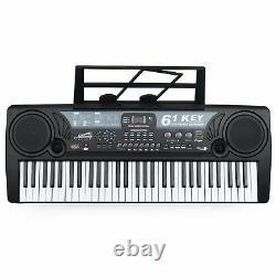 Toyrific Academy Of Music Kids Instrument De Musique 61 Clavier Électrique Clé Piano
