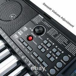 Vangoa 61 Keys Lighted Clavier Piano Interactive Enseignement Musique Clavier