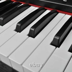 Vidaxl Classic Electronic Piano Numérique Avec 88 Clés Et Support De Musique