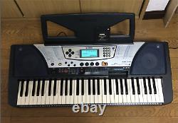 Yamaha Psr-340 Music Work Station Keyboard Piano Synthétiseur Du Japon Utilisé